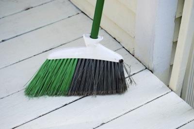 掃除とほうき